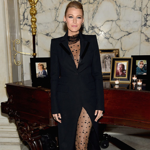 Blake Lively Shows a Whole Lot of Leg For Her Big Night