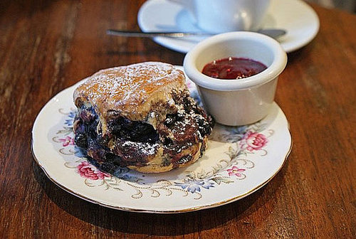 Superb Blueberry Scone