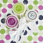 Elegant Lollipop Favors