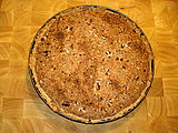 Southern Chocolate Coconut Pecan Pie