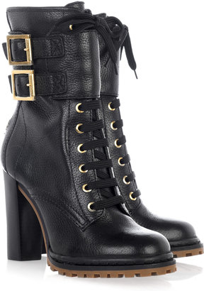 Save Vs. Splurge-Tory Burch Lace up Leather Boots
