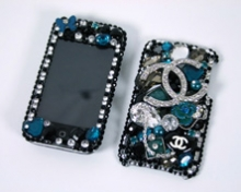 Luxaddiction.com iphone bling case cover