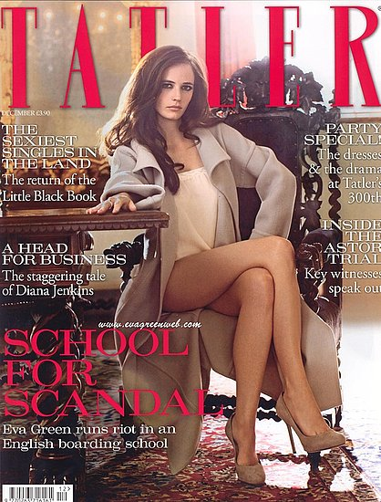 More pictures of Eva Green for Tatler UK-december 09
