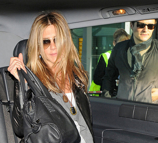 Jennifer Aniston at Heathrow Airport