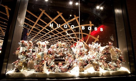 OH HO HO! Holidays at Hugo Boss