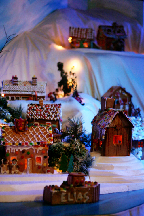 Pepperkakebyen (Gingerbread City) - Bergen, Norway
