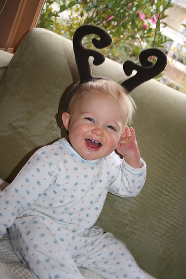Reindeer baby