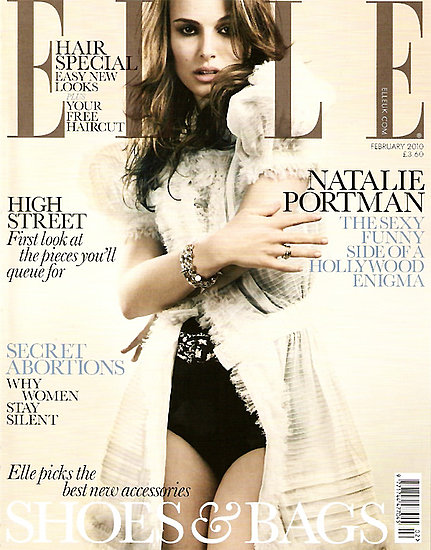 Natalie Portman does Elle UK-february 2010