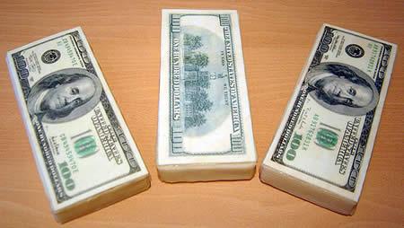 Money cake