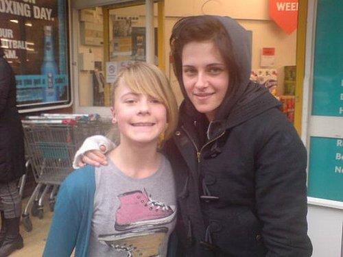 Robert Pattinson and Kristen Stewart in the UK