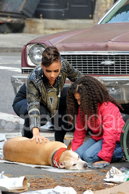 Alicia Keys' Video Shoot