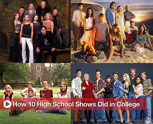 10 TV Shows Set in High School That Tried to Switch to College
