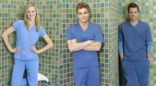 Photos of Michael Mosley, Kerry Bishe, Dave Franco as the New Doctors on Scrubs