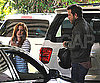 Slide Photo of Isla Fisher and Ryan Reynolds Meeting in NYC