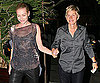Photos of Ellen DeGeneres and Portia de Rossi Eating Dinner in LA
