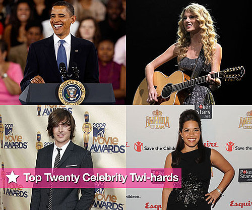 The Top 20 Celebrity Twilight Fans!