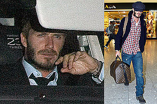 Photos of David Beckham's Late Night in London After Beating Belarus