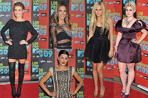 Photos From the 2009 MTV Los Premios Award Show in LA
