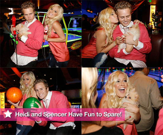 Heidi and Spencer Have Fun to Spare!