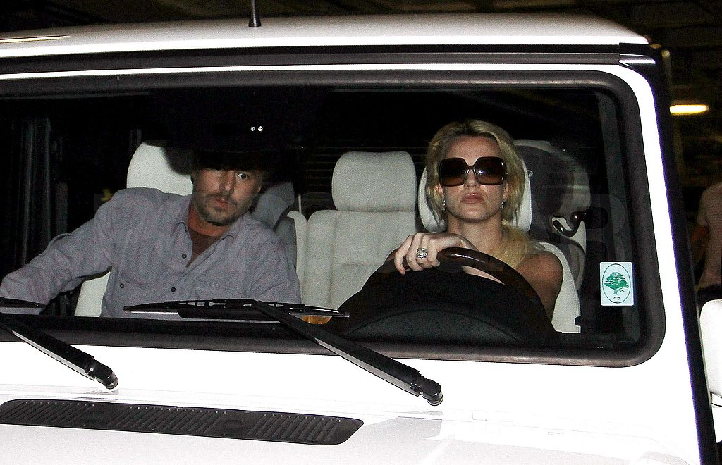 Photos of Britney Spears and Jason in LA