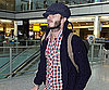 Slide Photo of David Beckham Walking Through Heathrow Airport
