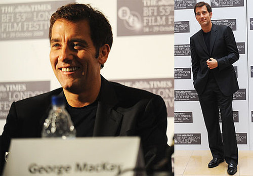 Photos of Clive Owen in London at the London Film Festival Premiere of The Boys Are Back 2009-10-21 11:30:35