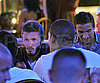 Slide Photo of David Beckham and LA Galaxy Out to Dinner in LA