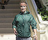 Slide Photo of Matthew McConaughey Finishing Work Out in Malibu