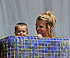 Photo Slide of Britney Spears Playing With Her Sons While in a Bikini in Mexico