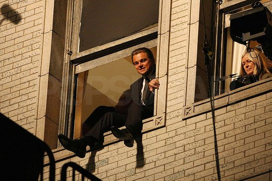 Photos of Leonardo DiCaprio on Set in LA
