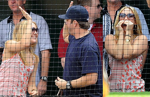 PHotos of Kate Hudson Cheering on the Yankees as They Take on the Angels in LA