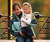 Photo Slide of Jennifer Garner and Violet at the Park