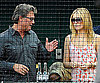 Kate Hudson and Kurt Russell at Game Three of Playoffs in Anaheim