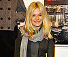 Slide Photo of Sienna Miller at Rag and Bone Store Opening in Soho