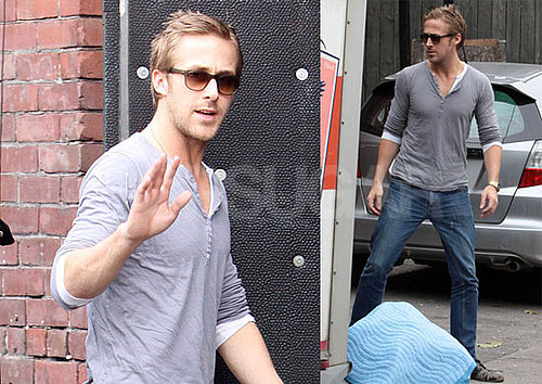 Photos of Ryan Gosling On His Way to A Gig in Toronto