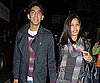 Slide Photo of Dev Patel and Freida Pinto Shopping in London