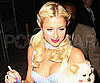 Slide Photo of Paris Hilton Before a Halloween Party in LA