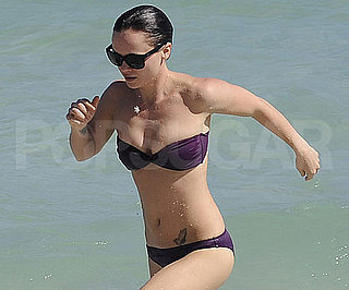 Slide Photo of Christina Ricci in Bikini in Miami