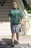 Photos of Matthew McConaughey Running in NYC 2009-10-29 16:10:29