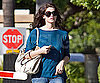 Slide Photo of Ashley Greene on Paramount Lot in LA
