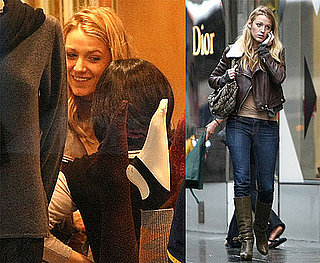 Photos of Blake Lively Shopping at Barneys in NYC