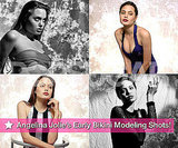 Angelina Jolie's Early Bikini Modeling Shots!