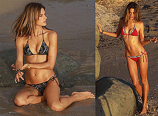 Photos of Alessandra Ambrosio in a Bikini for Victoria's Secret Photo Shoot