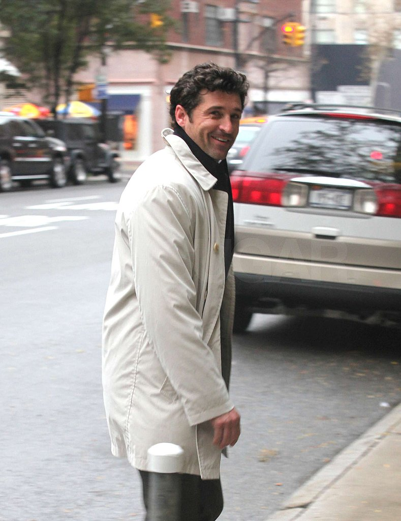Photos of Patrick Dempsey on Good Morning America