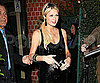 Slide Photo of Paris Hilton Leaving Mr Chows in LA