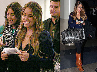 Photos of Lauren Conrad at LAX 2009-10-27 11:30:55