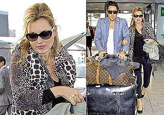 Photos of Jamie Hince at Heathrow With Kate Moss After Her Topshop Collection Comes Out