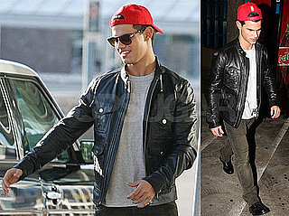Photos of Eclipse Star Taylor Lautner Arriving at LAX Before Meeting Up With Taylor Swift