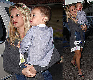 Photos of Britney Spears With Jayden James in LA
