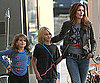 Photo Slide of Cindy Crawford With Kaia and Presley in Malibu